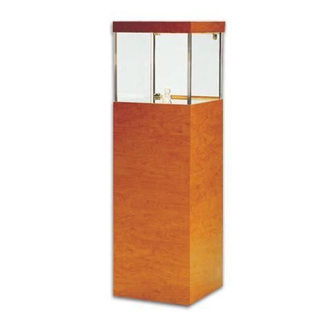 Museum Pedestals tecno square pedestal showcase premium free standing display showcases hi end museum pedestal