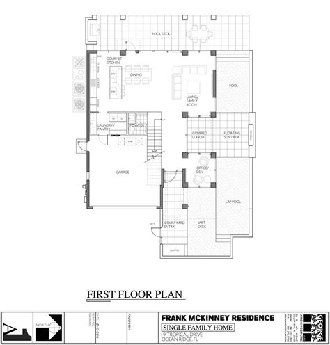 mini mansion floor plans a modern micro mansion in florida by frank mckinney