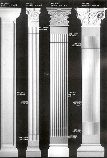 html design columns architectural columns decorative classical or victorian look