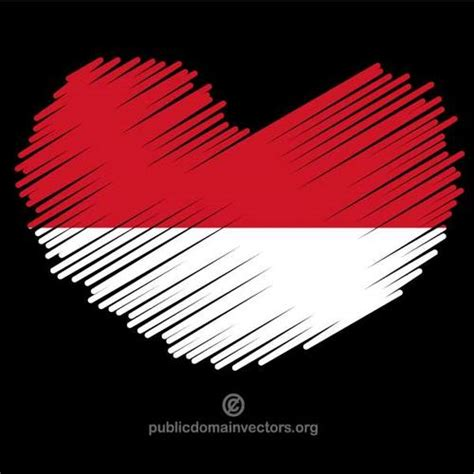 Tshirt Aku Cinta Indonesia clipart bendera indonesia bbcpersian7 collections