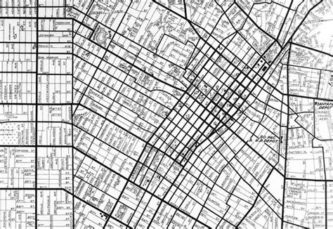 grid pattern map survey says how thomas jefferson made l a kcet