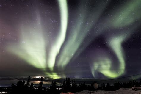 northern lights alaska of year northern lights or borealis animate the sky