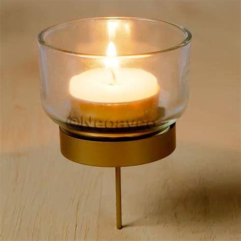 teelicht kerzenhalter adventskranz glas adventskranz kerzenhalter gold f 252 r teelicht