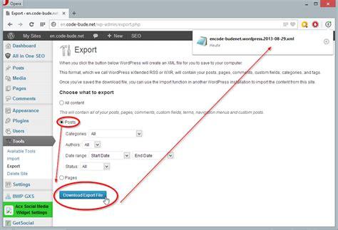 blogger xml export wordpress2doc wordpress artikel in word und pdf