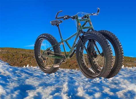 wordlesstech three wheeled bike floats sand and snow