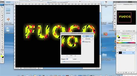 tutorial photoshop cs3 débutant tutorial photoshop testo fuoco cs3 for mac youtube