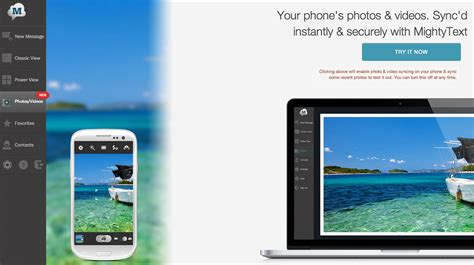 icloud photostream for android mightytext the imessage for android targets icloud with new cross device photo and