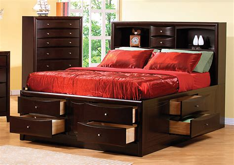 Amite Furniture by Amite City Furniture Amite La Cappuccino Storage Bed