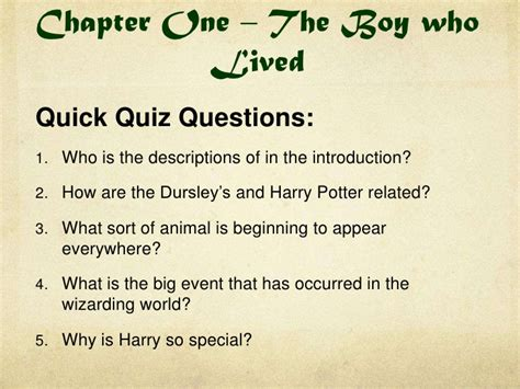 harry potter test harry potter book 1 quizzes and do now tasks