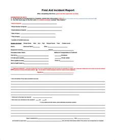Injury Incident Report Template by Doc Injury Incident Report Template Injury Incident