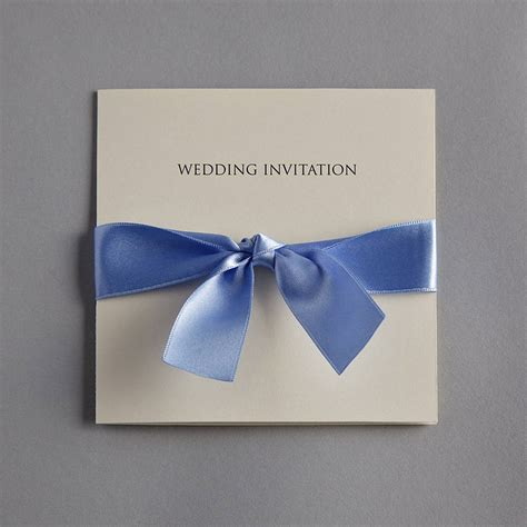 Wedding Invitations With Bows