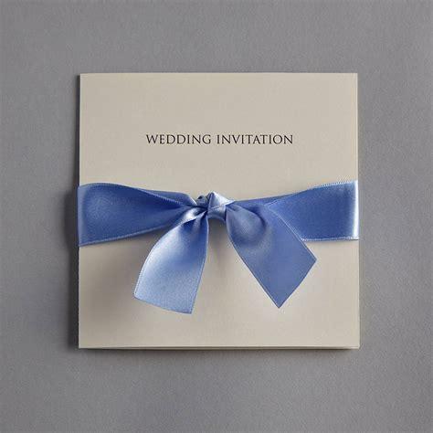 wedding invitations with bows bow wedding invitation set by twenty seven