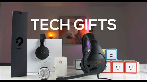 unique tech gifts cool tech gifts youtube