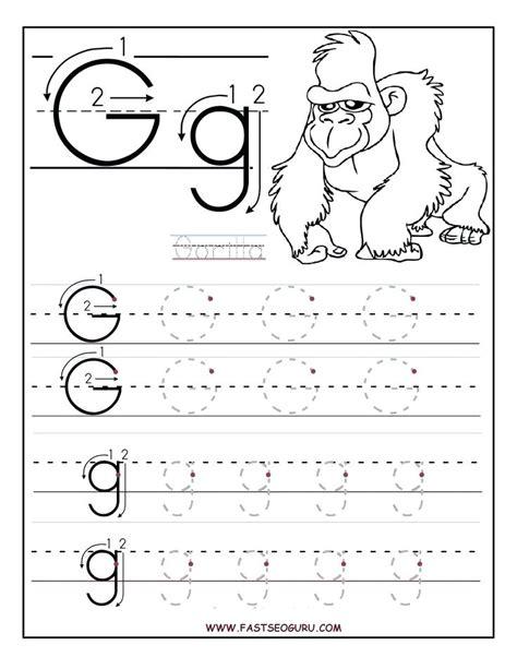 business letter practice worksheets letter g worksheets worksheets for preschoolers printable