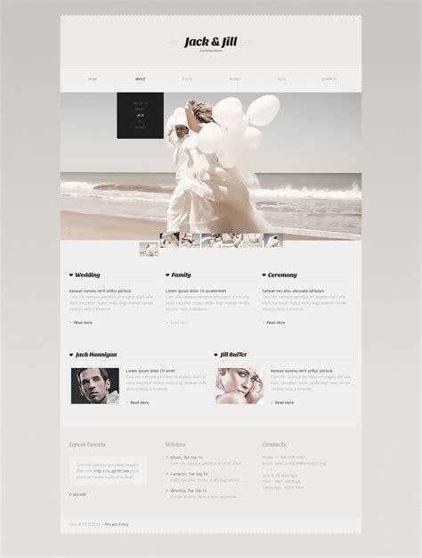 Wedding Album Website Template by Wedding Album Website Template 41010