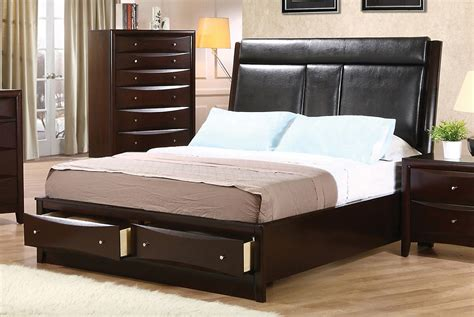 california king bed frame phoenix collection 200419kw coaster california king bed frame