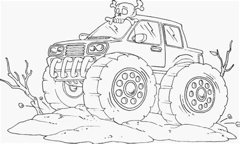 bigfoot truck coloring pages drawing truck coloring pages with
