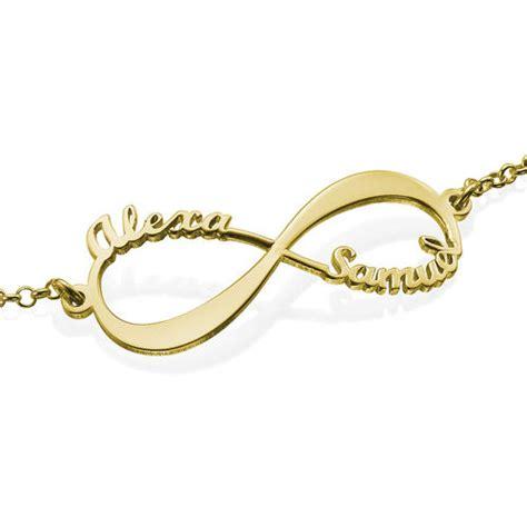cadena de oro 18k con nombre precio pulsera infinito con nombres chapada en oro de 18k