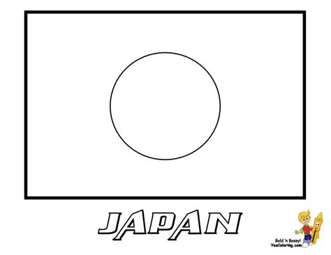 coloring page japanese flag free the christian flag coloring pages