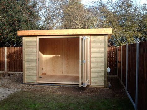 Modern Garden Shed by The Ultimate Luxurious Garden Shed Shed Building Plans