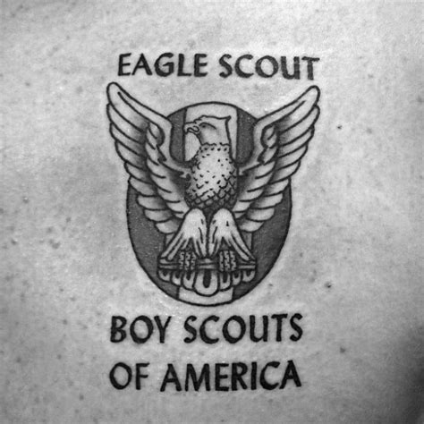 tattoo shops in eagle pass tx 30 eagle scout tattoo designs for men boy scouts of america
