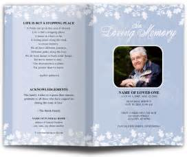 funeral programs printing funeral program in loving memory memorial services
