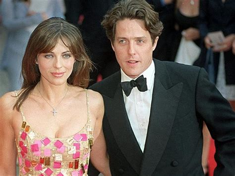 Why Ex Hugh Grant Didnt Show For Lizs Wedding elizabeth hurley on hugh grant he s annoying
