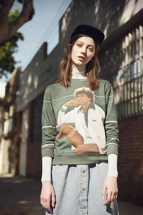 Fashion News Bglam 4 by Lacoste Vintage Ads Sweatshirt With Photo Print 옷