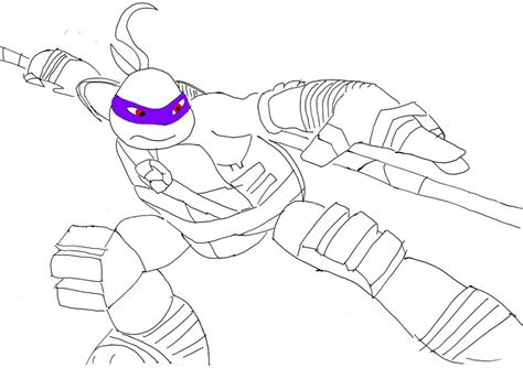 donatello the movie coloring sheets coloring pages