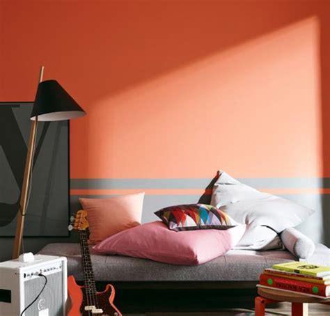 hausdoktor ein flur  kraeftigem orange ja oder nein schoener wohnen