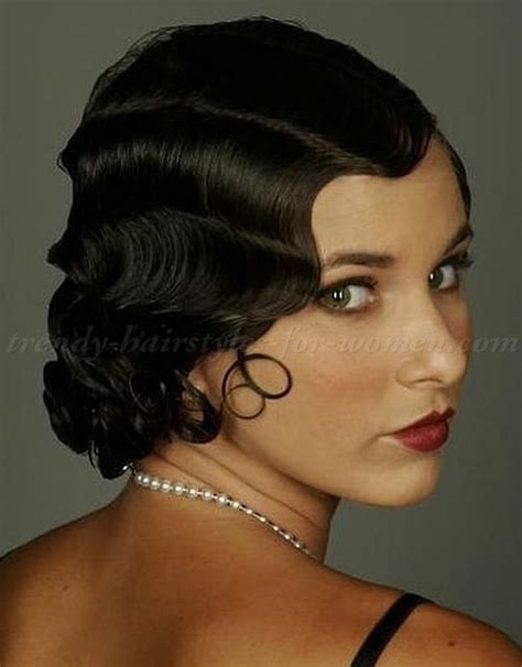 Black Hair Finger Waves Hairstyles by Finger Waves Hairstyle Medium Hairstyles