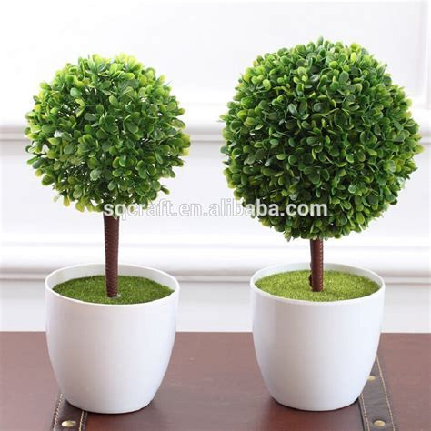 High Imitation Potted Indoor Plants Decoration Simulation Newest Design Artificial Potted Bonsai Flower Plant Tree