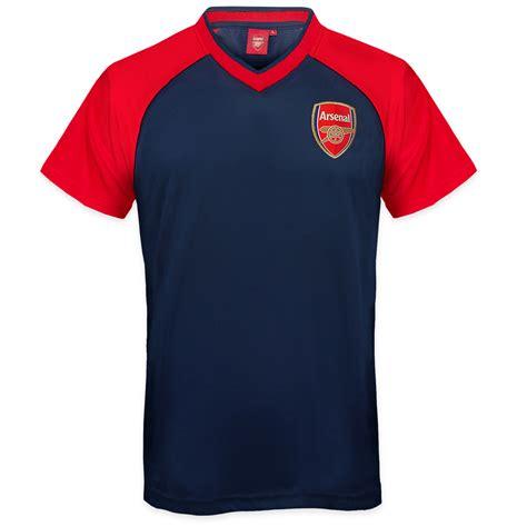 Tshirt Arsenal 2 arsenal fc official football gift mens poly kit t