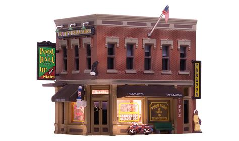 Discount Awnings Corner Emporium N Scale N Scale Woodland Scenics