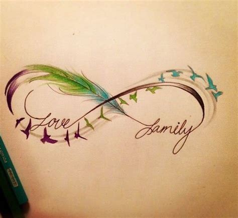 tattoo infinity feather meaning 60 infinity tattoo designs and ideas with meaning updated