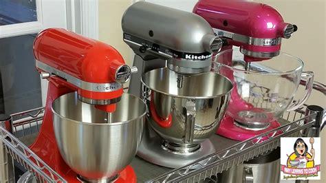kitchenaid mixer comparison kitchenaid tilt stand mixer comparison artisan vs