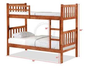 Picture Of Double Deck Bed by Double Deck Bunk Bed Dd1061wh