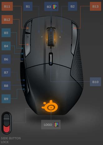 layout view button steelseries rival 500 review a moba mmo mouse that also