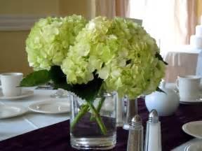 wedding centerpieces hydrangeas dodge the florist