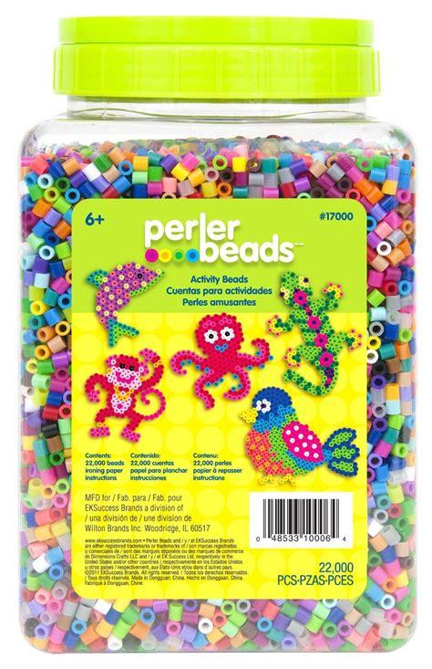 perler bead colors perler 17000 22 000 count bead jar multi