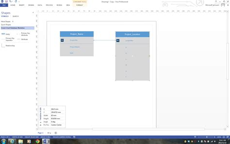visio 2013 erd template visio 2013 crows foot database notation template