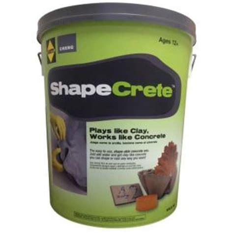 sakrete shapecrete  lb shape  concrete mix