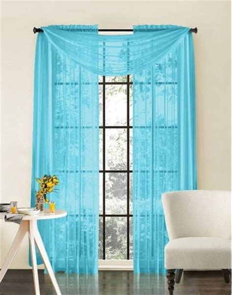 Turquoise Valances For Windows Turquoise Window Curtains In Home Decor Littlepieceofme