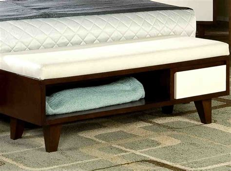 bed foot storage bench foot of bed storage bench home furniture design