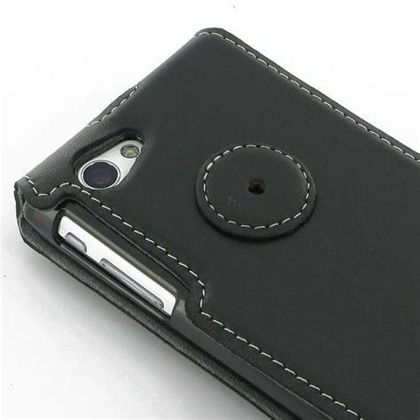 Flip Cover Xperia J sony xperia j flip cover pdair sleeve pouch holster