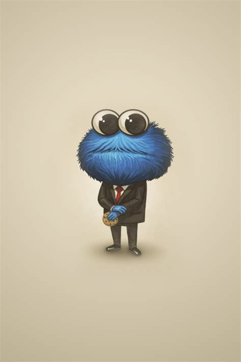 wallpaper for iphone cookie monster 640x960 sesame street cookie monster iphone 4 wallpaper