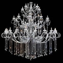 Crystal chandelier silhouette home improvement