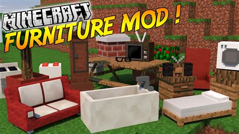 1 8 9 1 8 mrcrayfish s furniture mod v4 0 the outdoor ordinateur tv salle de bain et bien plus