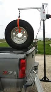 Trailer Tire Lift Saddle Lift Herc U Lifts Saddle Lift Macon Mo