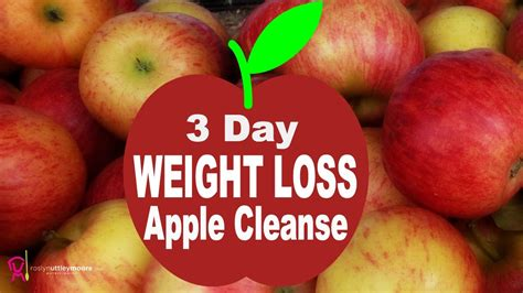3 Day Apple Detox Weight Loss by 3 Day Weight Loss Apple Cleanse